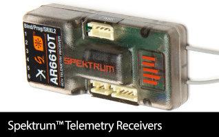See All Spektrum Telemetry Receivers