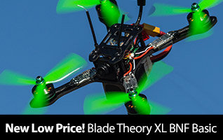 New low price on the Blade Theory XL 5-inch FPV BNF Basic Race Quadcopter Drone