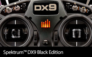 Spektrum DX9 Black Edition 9-channel RC Radio Transmitter