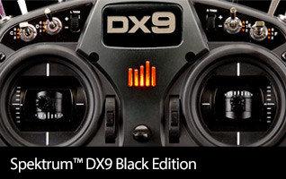 Spektrum DX9 Black 9-Channel DSMX Transmitter Only