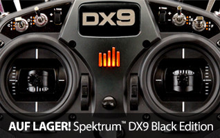 Sepktrum DX9 Black Edition