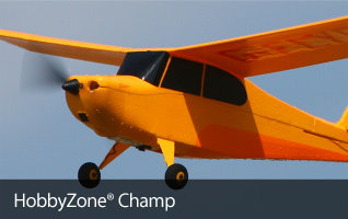 HobbyZone Champ RTF Ultra Micro Teach-Yourself-to-Fly Trainer Airplane