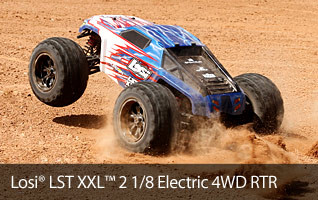 Losi E-LST LST XXL 1/8 Scale Electric Monster In-stock RTR Truck 4WD