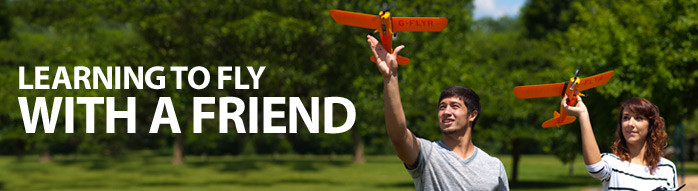 Learn to Fly with a Friend | Beginner RC Aircraft