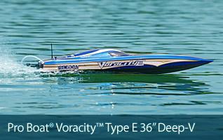 Pro Boat Coracity Type E Brushless Motor RTR Brushless Boat Marine