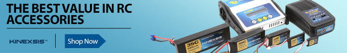 Kinexsis Batteries, Chargers, Motors, ESCs, and Accessories - The Best Value In Radio Control