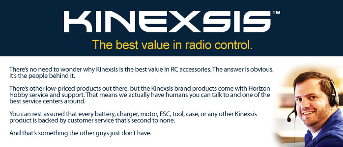 Kinexsis RC Accessories