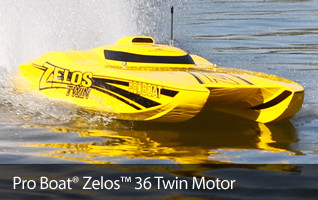 Pro Boat Zelos Twin Catamaran 36-inch RTR Ready to Run