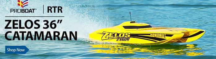 Zelos 36 Twin Pro Boat