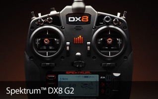 Spektrum DX8G2 Aircraft Transmitter Radio DSMX