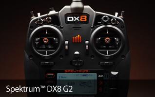 Spektrum DX8G2 Aircraft Transmitter Radio DSMX