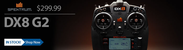 SPM8000 Spektrum DX8 G2 Radio