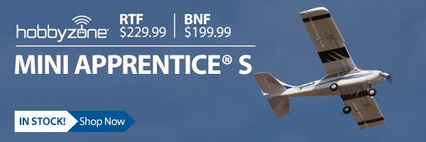 HobbyZone Mini Apprentice 1.2m Teach-yourself-to-fly Airplane