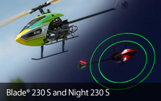 Blade 230 S Night RTF BNF Heli Helicopter