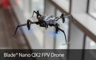 Blade Nano QX2 FPV BNF Basic RC Multirotor Drone