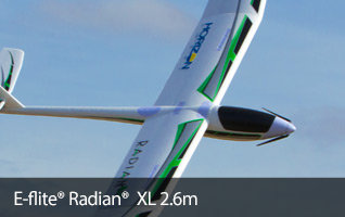 E-flite Radian XL 2.6m Powered Glider RC Airplane