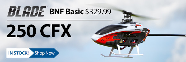 Blade 250 CFX Flybarless Helicopter