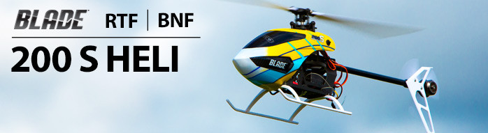 Blade 200 S RTF and BNF Mini RC Helicopter with SAFE Technology