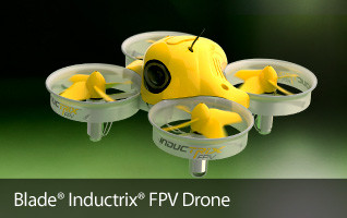 Get into drone flying with the Blade INductrix FPV