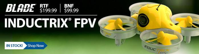 Blade Inductrix FPV Quad Drone Camera