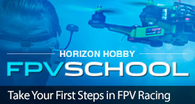 Horizon Hobby FPV School Blade Headset Racing Goggles Camera Drone