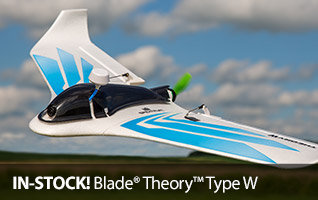 Blade RC Theory Type W FPV Equipped BNF Basic 760mm Flying Wing Drone