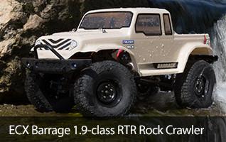 ECX Barrage RTR Rock Crawler 1.9 1/12 scale Scaler