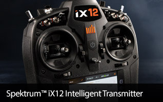 Spektrum iX12 12-channel DSMX Intelligent RC Radio Transmitter
