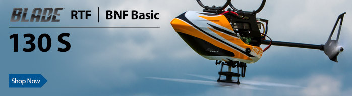 Blade 130 S RTF and BNF Basic Collective Pitch Mini RC Helicopter