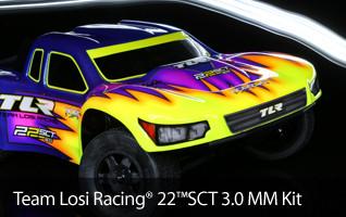 TLR 1/10 22SCT 3.0 MM 2WD SCT Race Kit