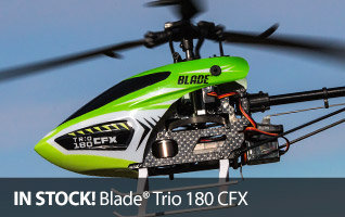 Blade Trio 180 CFX 3-bladed Flybarless Micro RC Helicopter