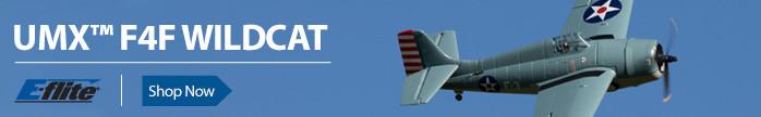 UMX F4F Ultra MIcro Extreme Xtreme Wildcat Foamie Backyard Flyer