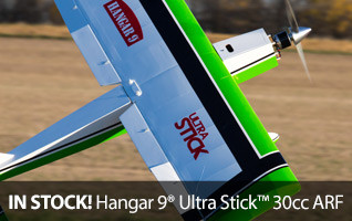 Hangar 9 Ultra Stick 30CC ARF Almost ready to fly airplane