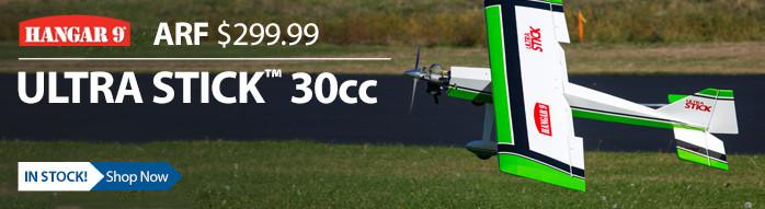 Hangar 9 Ultra Stick 30cc ARF Giant Scale RC Airplane