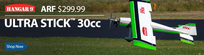 Hangar 9 Ultra Stick 30cc ARF Giant Scale RC Airplane