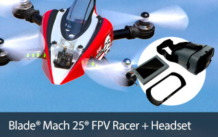 The Blade Mach 25 multirotor makes getting into 250-class quad-racing easy.