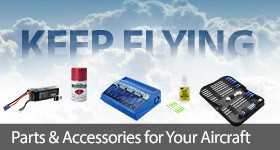 Stock up on parts and accessories to keep you flying