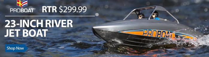 Pro Boat River Jet 23 Inch Boat RTR