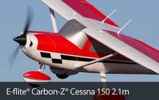 E-flite Carbon-Z Cessna 150 2.1m Aerobat Scale RC Airplane