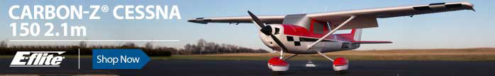 E-flite Carbon-z Cessna Electric BNF PNP