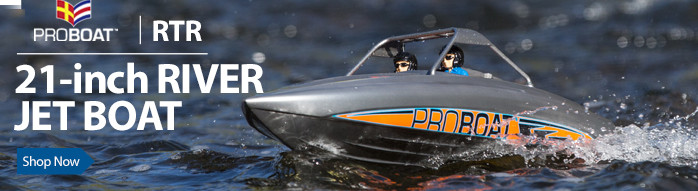 Pro Boat River Jet 23-Inch Brushless Deep-V