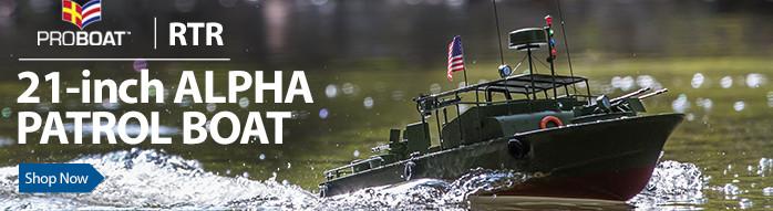 21 Inch alpha Patrol Boat RTR PT