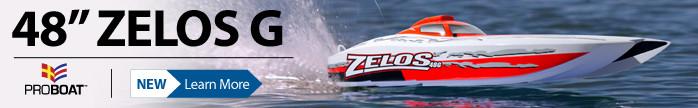 Pro Boat Zelos 48G RTR Scale Model