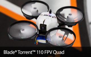 Blade Torrent 110 BNF Basic PNP FPV First Person View Camera RC Race Drone
