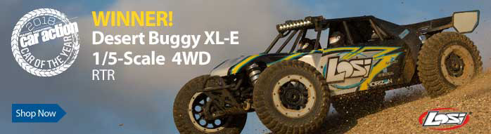 Losi 1/5 Desert Buggy XL-E 4WD Brushless RTR with AVC
