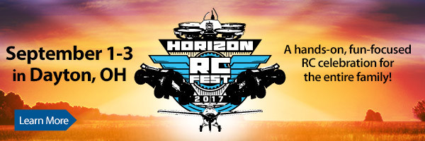 Hosted by Horizon Hobby, this three day event will feature an RC airshow, drone racing, RC product demonstrations, giveaways and more!