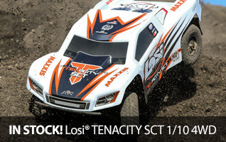 Losi TENACITY DX2E Active Telemetry Off Road Racer 4WD SCT Short Course Truck BBrushless RTR