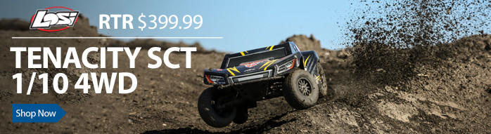 Losi Tenacity LOS03010 4WD Short Course SCT RTR Brushless