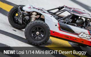 Losi Mini 8IGHT Desert Buggy DB 1/14 4WD Brushless
