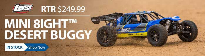 Losi Mini Desert Buggy 1/14 Off Road Baja Racing